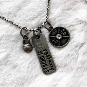 Strong is beautiful necklace